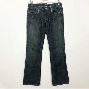 EUC Miss Me dark wash bootcut jeans